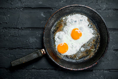 👍 How to make fried eggs, 300% delicious