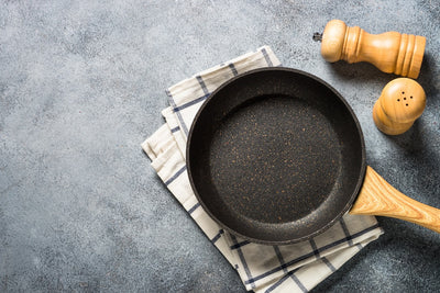 👍 Reviving the coating of a non-stick pan with milk