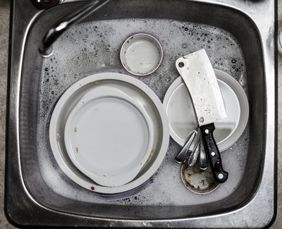 Are you still washing dishes with chemical ingredients?