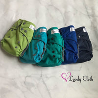 Cloth Diaper Stashes