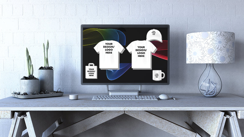 Brand Ur Merch will assist in planning, logo designs done on computers.  Customize.