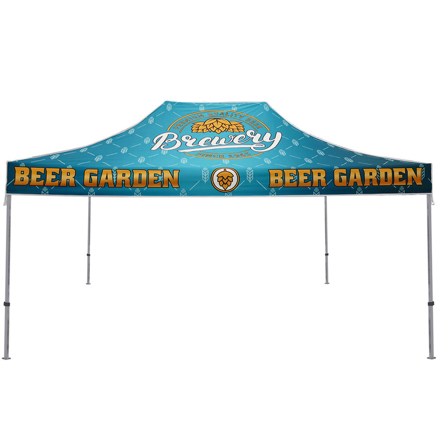 15 ft. Casita Canopy Tent Full-Color Dye Sub Print Graphic Package