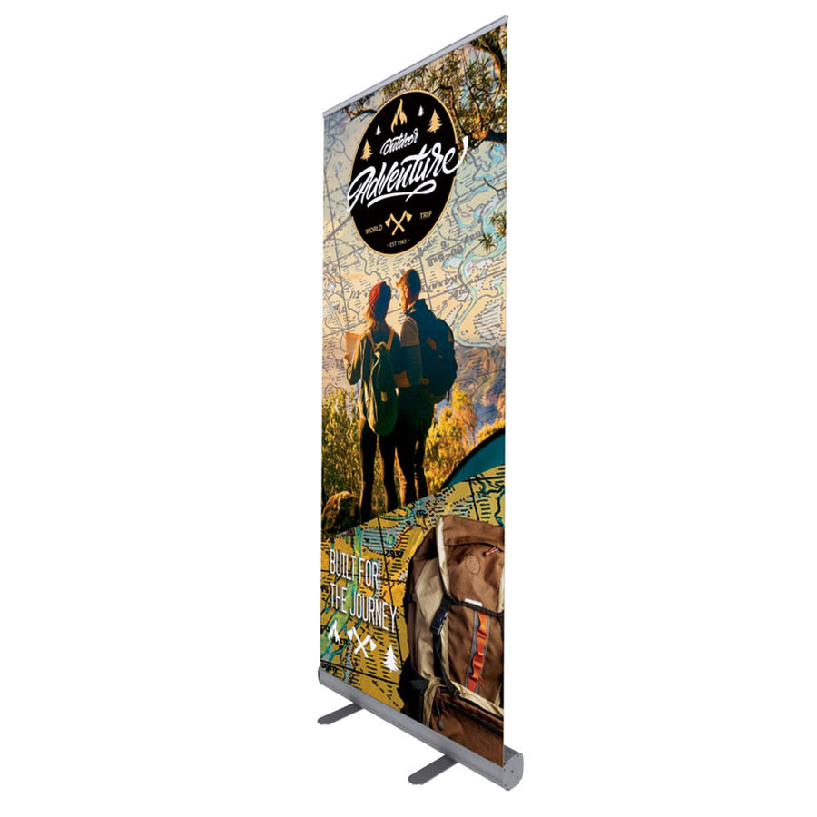 Retractable Banner Side View