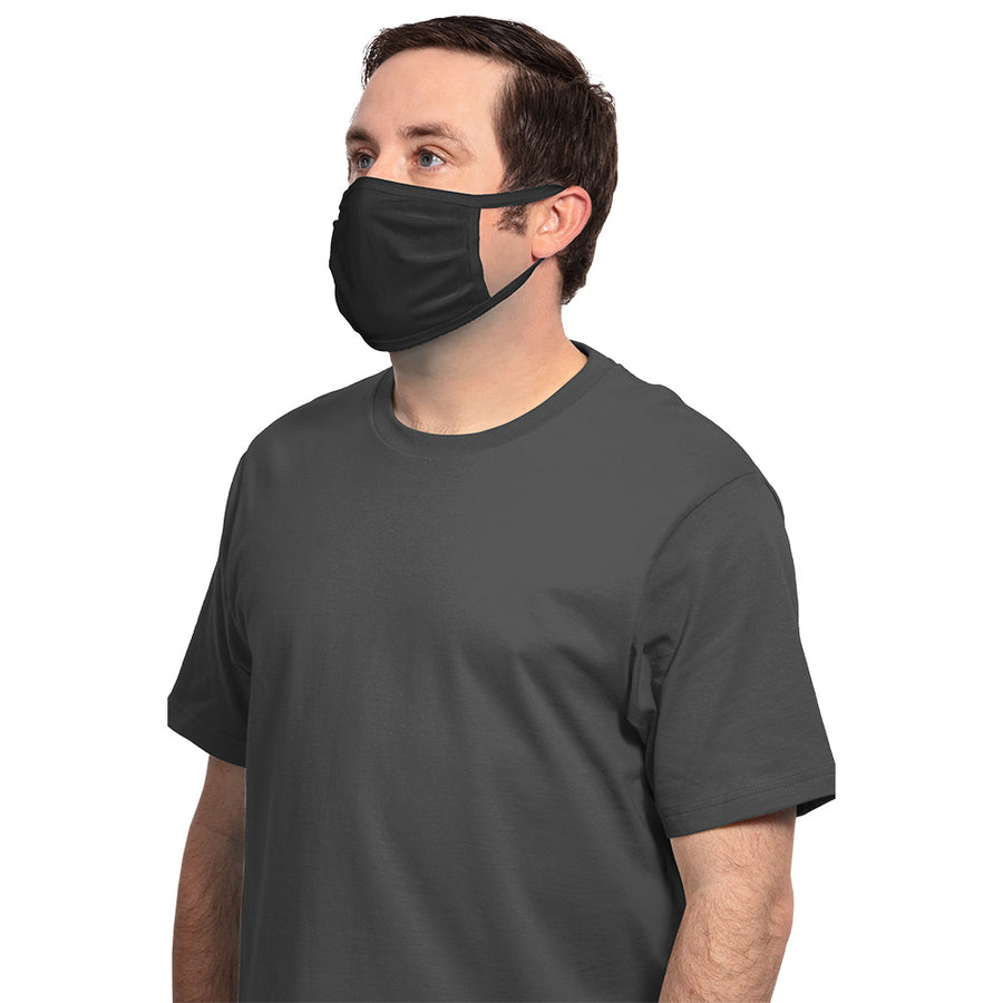 PPE Cotton Face Mask - With 1 color Logo (50 pieces)