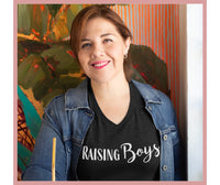 'Raising Boys' T-Shirt