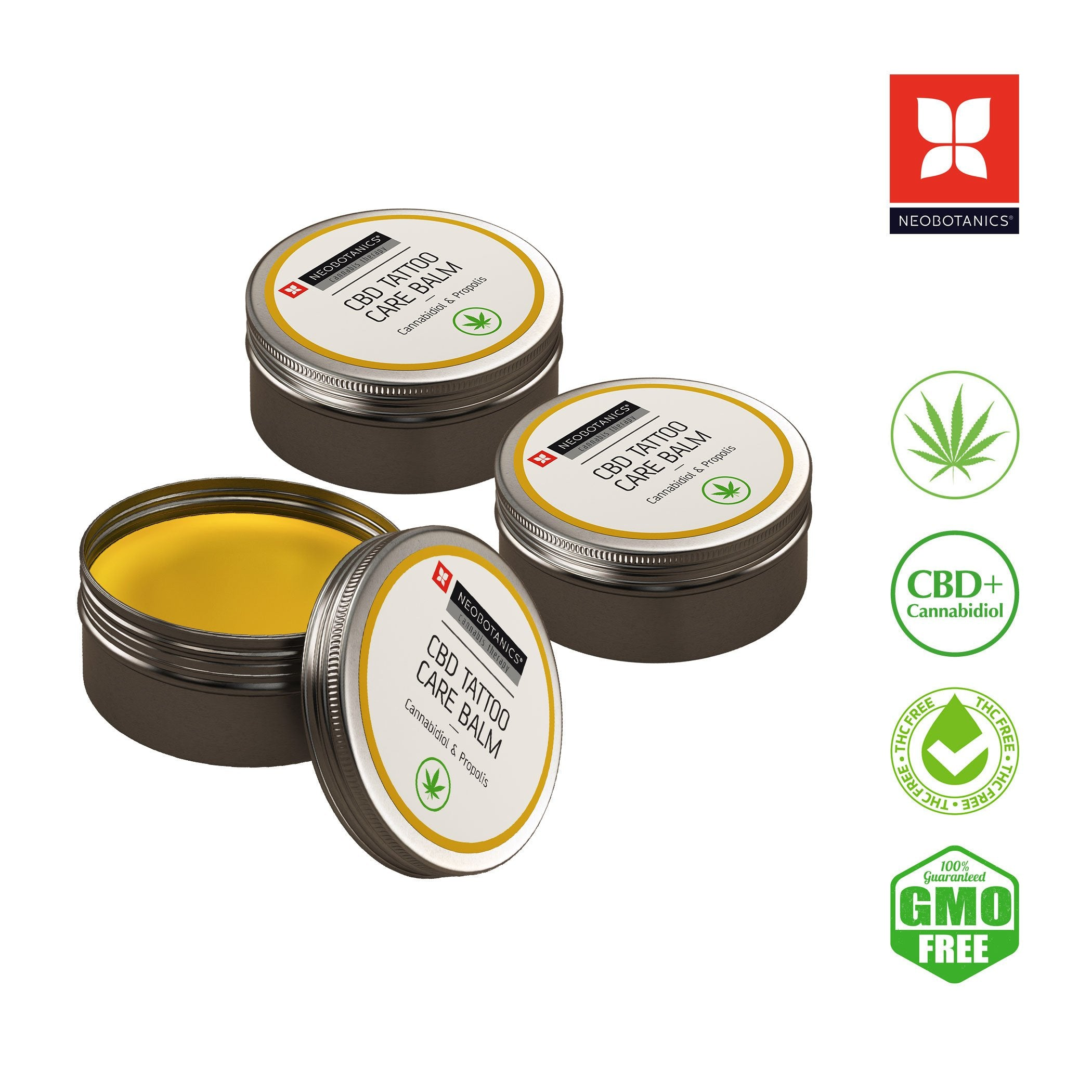 3x CBD TATTOO CARE BALM