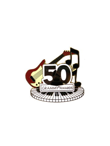 50th GRAMMYs Musical Pin