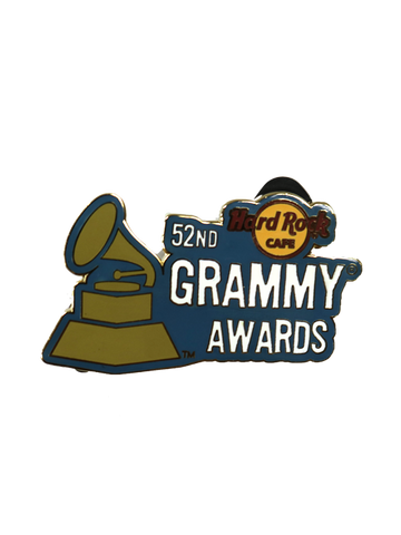 52nd GRAMMY Awards Hard Rock Grammy Pin