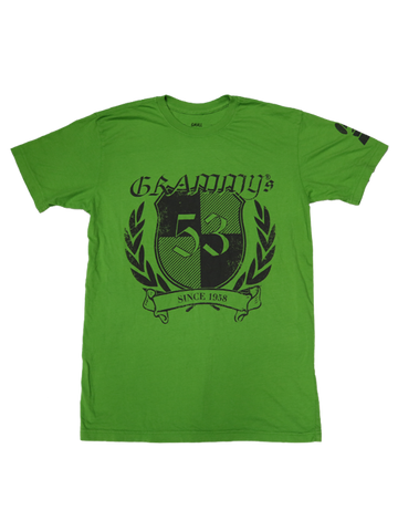 53rd GRAMMYs Shield Distress T-Shirt