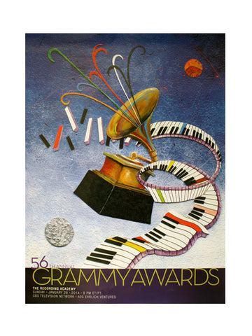 56th GRAMMY Awards Poster