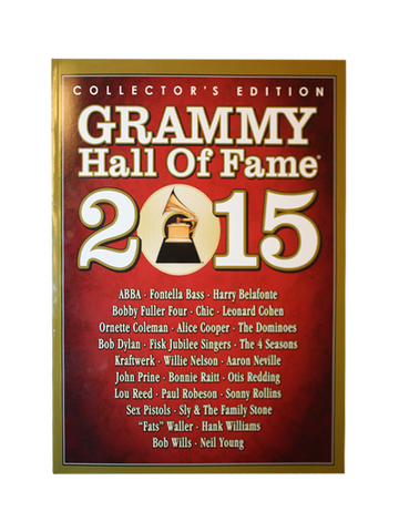 GRAMMYs 2015 Hall of Fame Book