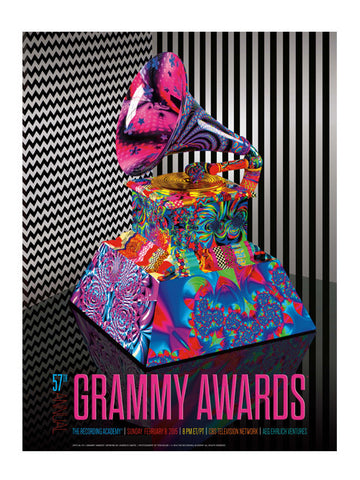 57th GRAMMYs Poster