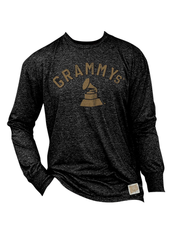 GRAMMYs Statue Mock Twist Long Sleeve T-Shirt