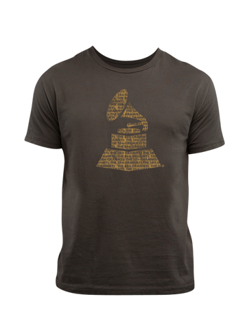 GRAMMYs Statue Nominee Faded Crew T-Shirt