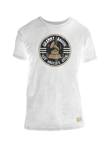 GRAMMYs 2016 Emblem Oil Wash T-Shirt