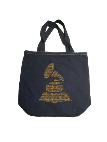 GRAMMYs Washed Canvas Grocery Tote