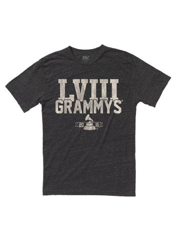 58th GRAMMYs Roman Numerals T-Shirt