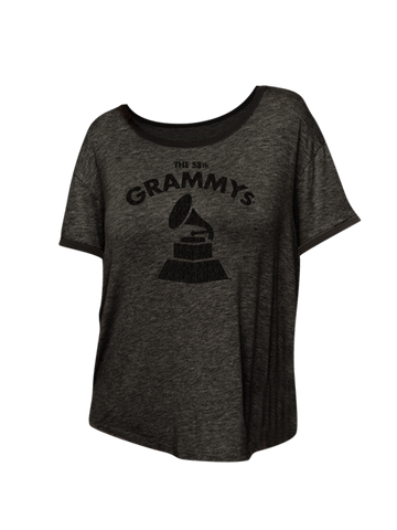 58th GRAMMYs Women's Vintage Relaxed Ringer T-Shirt
