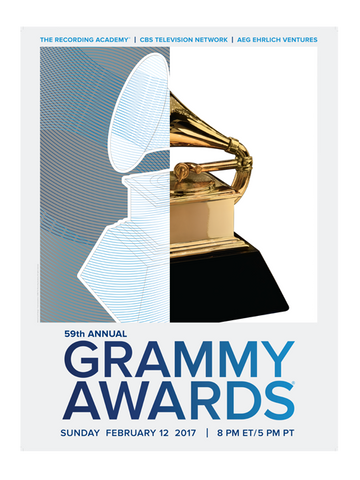 59th GRAMMYs 2017 Poster