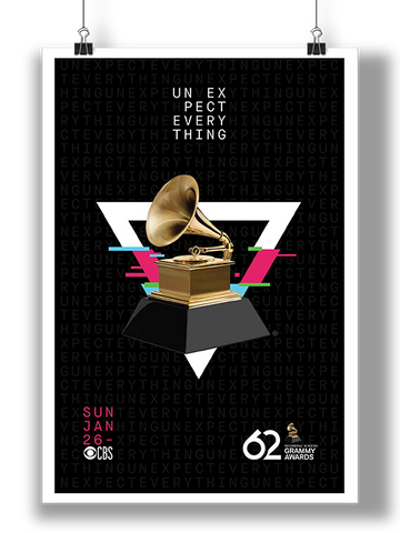 62nd GRAMMYs Poster