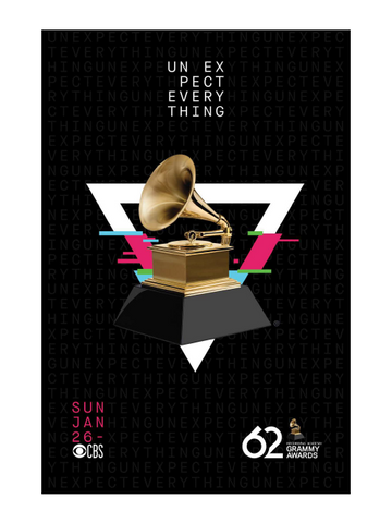 62nd grammys poster 62nd grammys poster