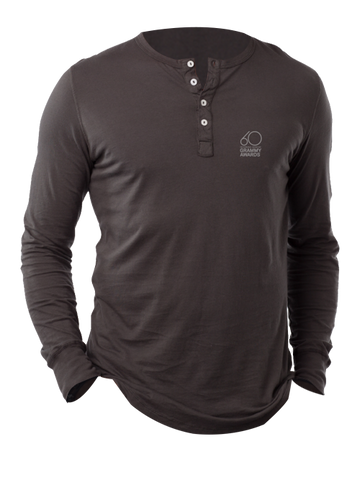 60th GRAMMYs Jersey Long Sleeve Henley