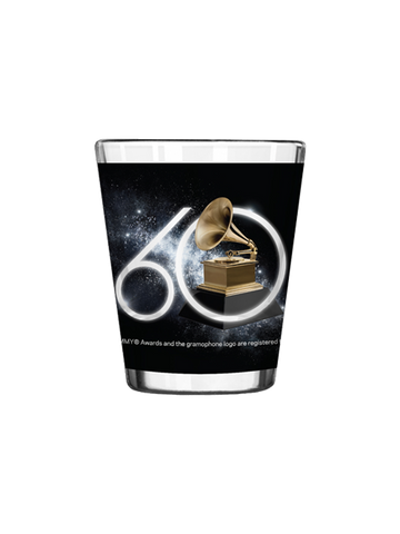 60th GRAMMYs Diamond Shot Glass