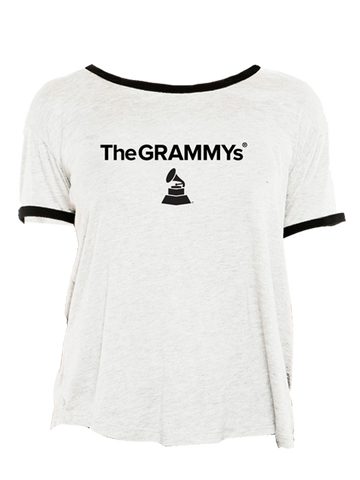59th GRAMMYs Women's Ringer T-Shirt