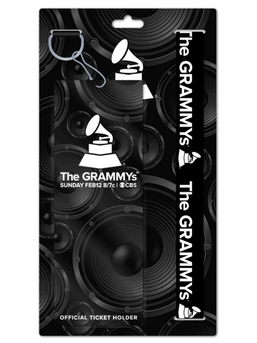 59th GRAMMYs Lanyard with Pouch Card