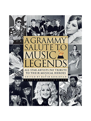 59th GRAMMYs Salute to Music Legends Book