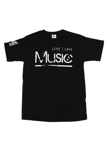54th GRAMMYs Live Love Music T-Shirt