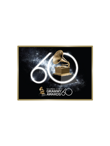60th GRAMMYs Diamond Dust Logo Magnet