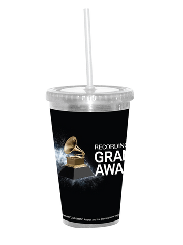 60th GRAMMYs Diamond Dust Plastic Tumbler