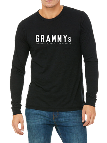 62nd GRAMMYs Men's Long Sleeve T-Shirt