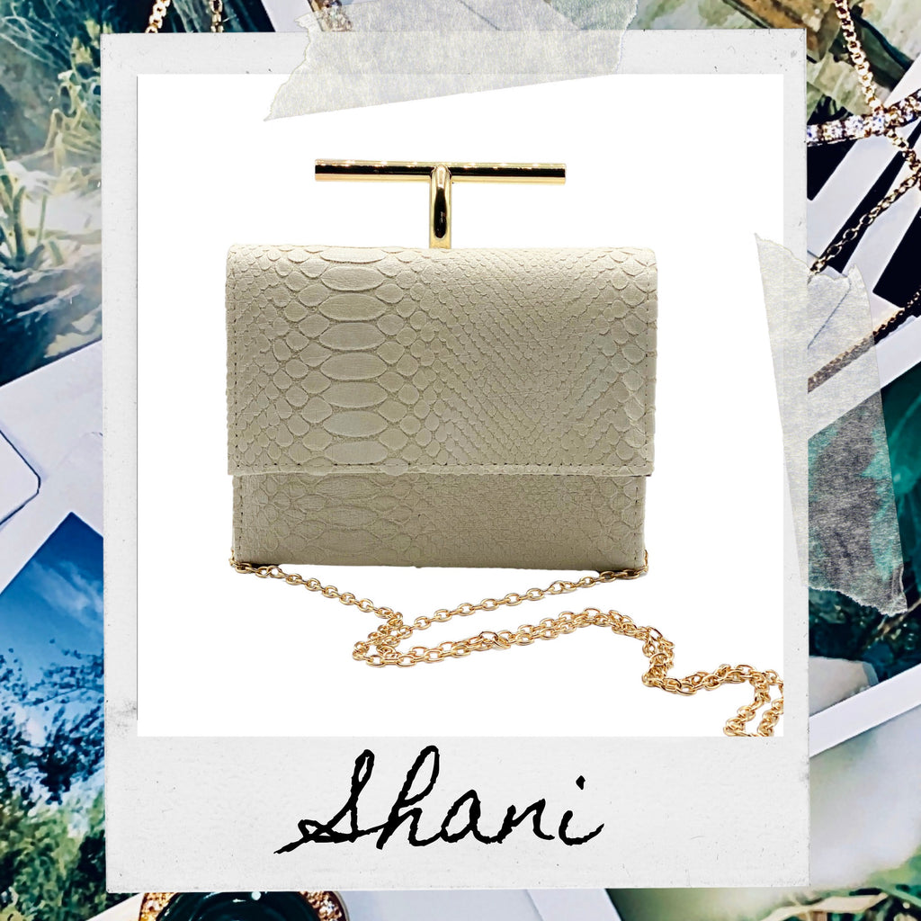 THE SHANI BAG - CREAM