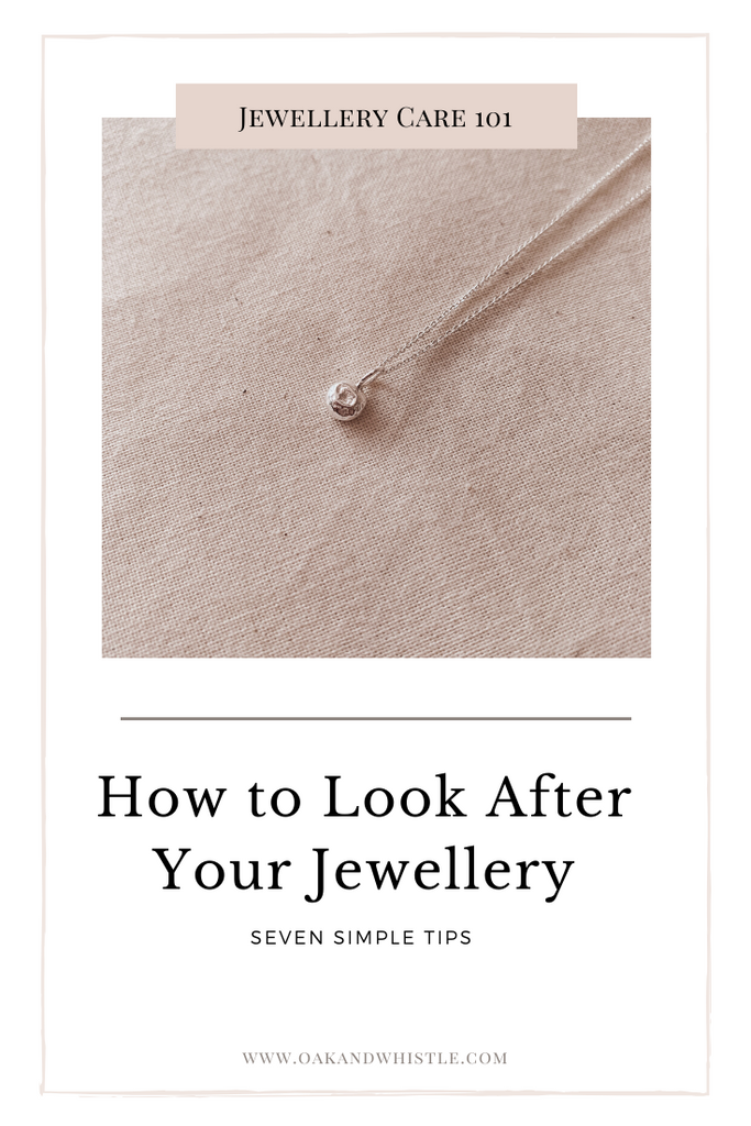Jewellery care Pinterest