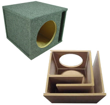 Load image into Gallery viewer, Car Audio Slot Ported Single 12 Subwoofer Labyrinth Bass SPL Vented Sub Box