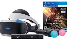 Load image into Gallery viewer, Sony PlayStation VR Valkyrie Starter Bundle 4 items:VR Headset,Move Controller,PlayStation Camera Motion Sensor, PSVR EVE: Valkyrie