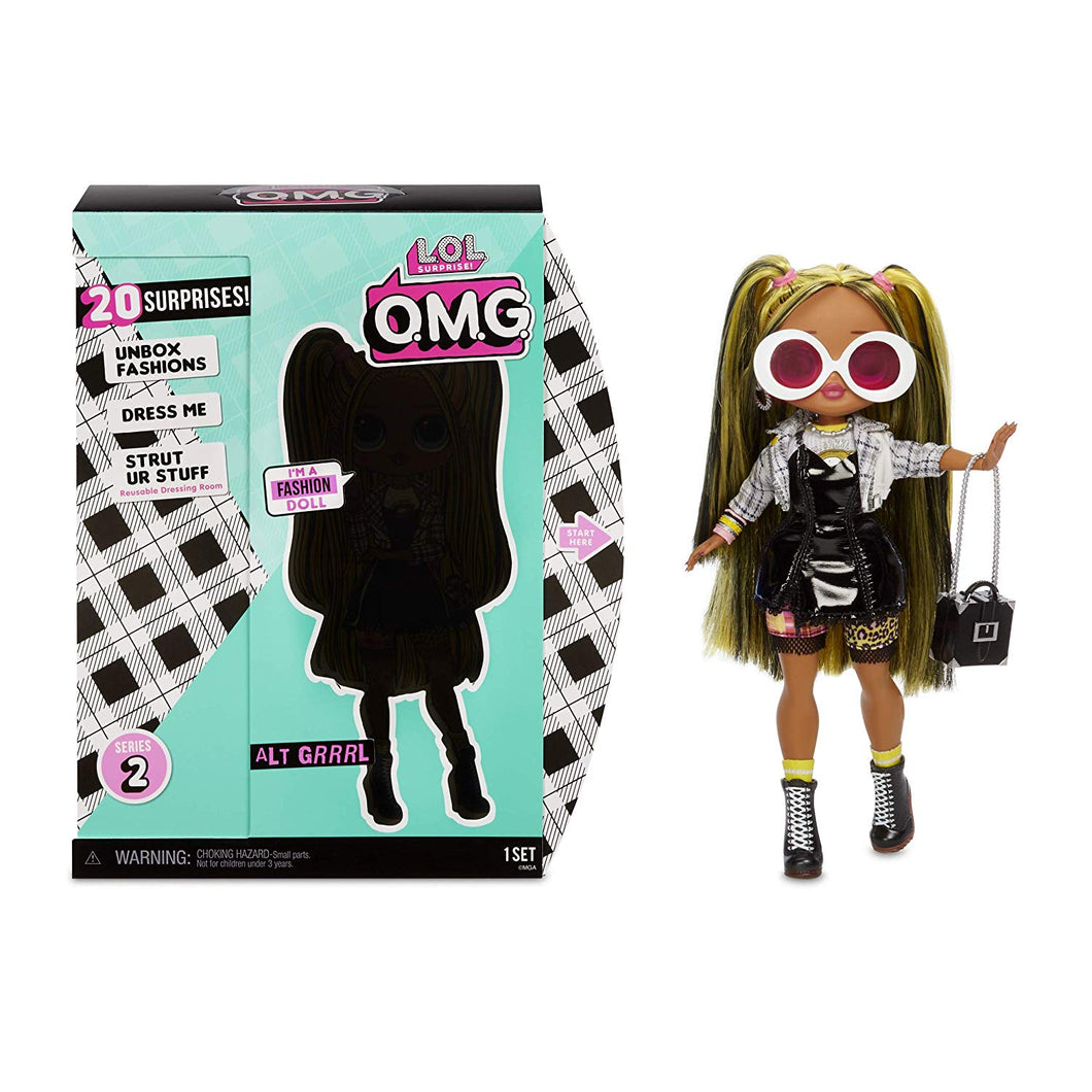 PAR TOY CO - LOL Surprise OMG Alt Grrrl by MGA - L.O.L. Surprise! Alt Grrrl Fashion Doll