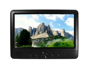 "Ematic 10"" Portable TV with Antenna, MP3/MicroSD/USB - EPTV101BL"
