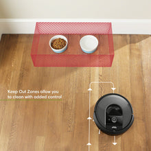 Load image into Gallery viewer, iRobot Roomba i7 (7150) Robot Vacuum- Wi-Fi Connected, Smart Mapping, Works with Google Home, Ideal for Pet Hair, Carpets, Hard Floors