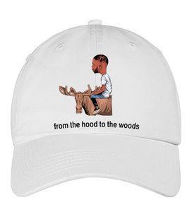 From The Hood To The Woods ( adjustable hats)