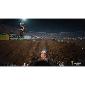 Monster Energy Supercross: The Official Video Game, Square Enix, Xbox One, WALMART EXCLUSIVE, 662248920566