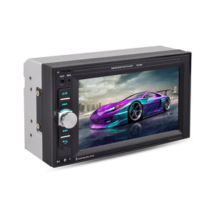 "2 din 6.2"" Universal Car Multimedia Player Audio Stereo Radio Touch Screen Video MP5 Player Rear View Backup Camera Support Bluetooth TF USB FM , included Backup Camera"