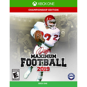 Maximum Football 2019 Championship Edition - Doug Flutie, Maximum Games, Xbox One, 814290015565