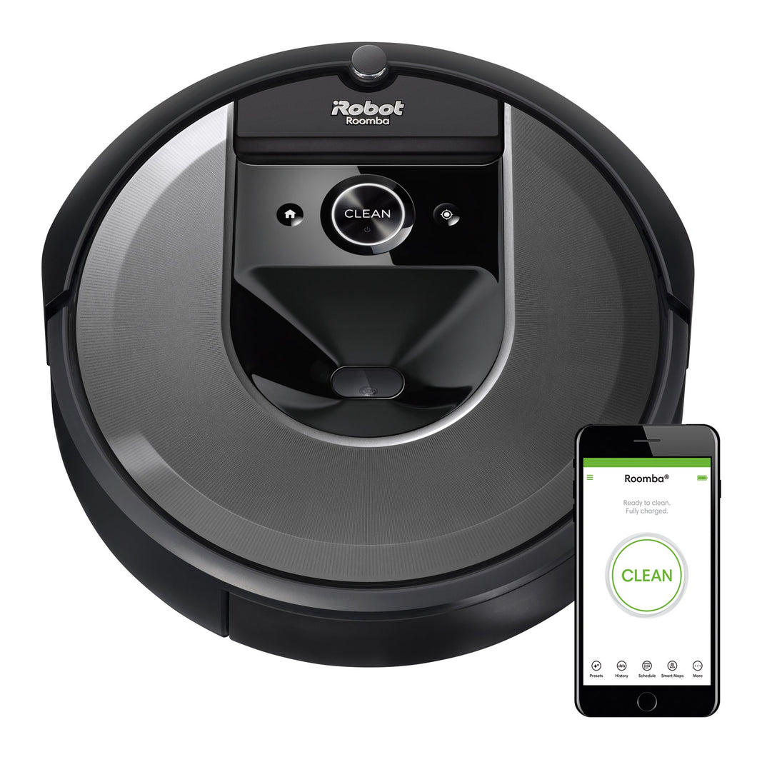iRobot Roomba i7 (7150) Robot Vacuum- Wi-Fi Connected, Smart Mapping, Works with Google Home, Ideal for Pet Hair, Carpets, Hard Floors