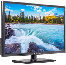 "Load image into Gallery viewer, Sceptre 24"" Class 1080P FHD LED TV with Built-in DVD Player E246BD-F"