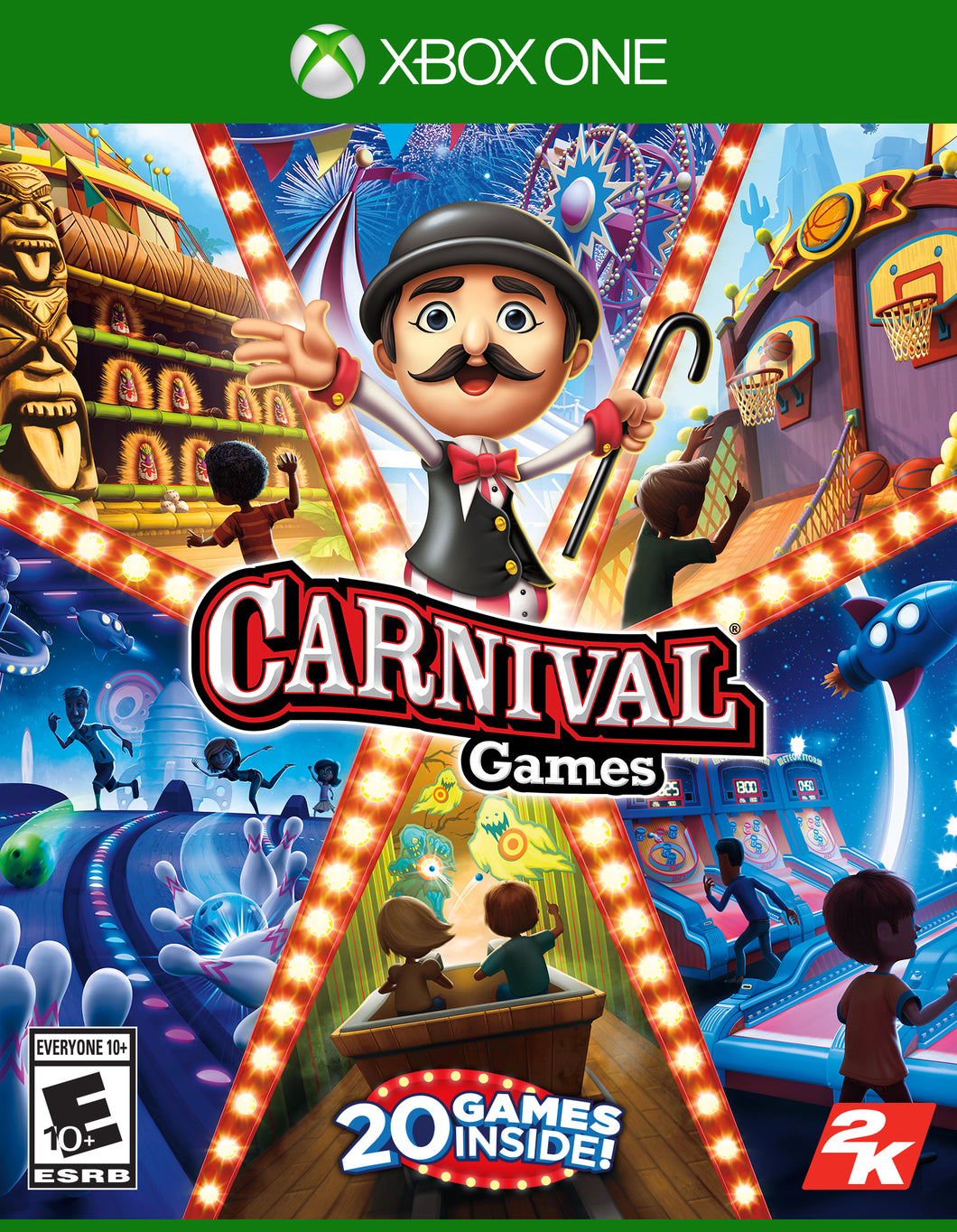Carnival Games, 2K, Xbox One, 710425594762