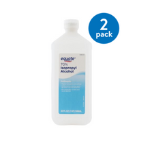 Load image into Gallery viewer, (2 Pack) Equate 70% Isopropyl Alcohol, 32 Oz
