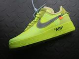 "Nike Air Force 1 Low ""Off-White Volt"""